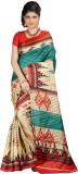 Neets Fashion Printed Bhagalpuri Silk Sa...
