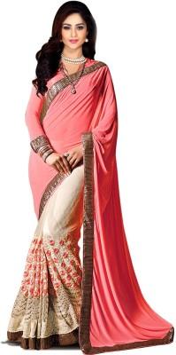 Suitsvilla Embriodered Fashion Net, Georgette Sari