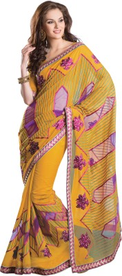 Urjita Creations Self Design Fashion Cotton Sari