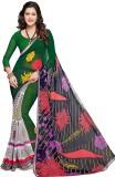 PSHOPEE Printed Fashion Chiffon Saree (G...