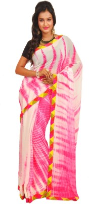 Anamika Collection Printed Fashion Handloom Synthetic Georgette Sari