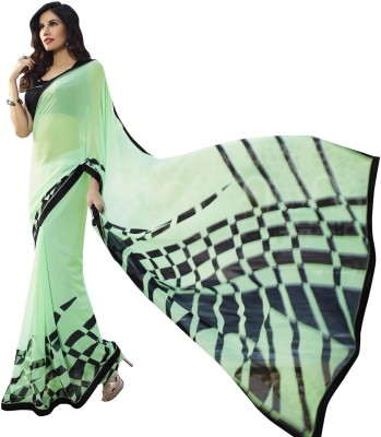 Style U Digital Prints Bollywood Georgette Sari