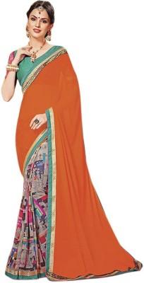 Desi By Design Embriodered Bollywood Georgette Sari