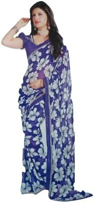 Narishringar Printed Daily Wear Chiffon Sari