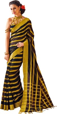 EvaFashion Self Design Bollywood Handloom Cotton Sari