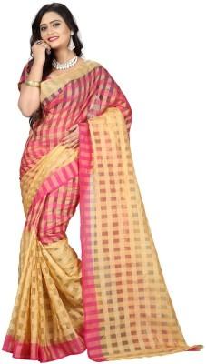 VardhitaFashion Self Design Daily Wear Polycotton Sari