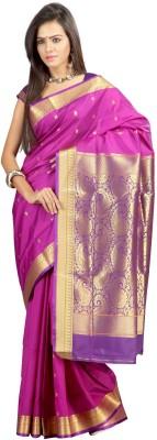 Minaxi Plain Mysore Art Silk Sari