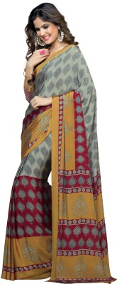 Desi Look Printed Fashion Crepe Sari