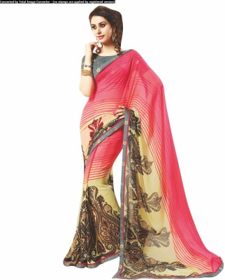 Hypnotex Embriodered Fashion Georgette Sari