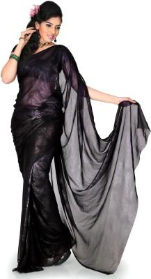 Designersareez Floral Print Fashion Georgette Sari