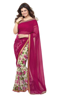 MYI (Madly Young I) Printed Fashion Georgette Sari