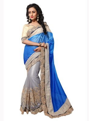 Dlines Embriodered Fashion Lycra Sari