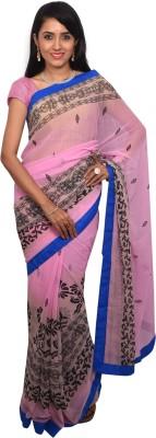 Arisidh Printed Bollywood Pure Chiffon Sari