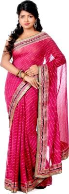 B3Fashion Embellished Fashion Georgette Sari