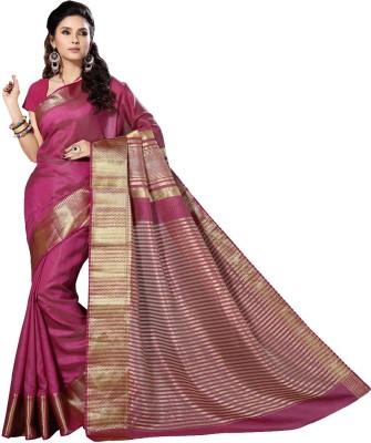 Rani Saahiba Solid Fashion Art Silk Sari