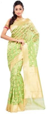 Ethnic Dukaan Woven Fashion Handloom Net Sari