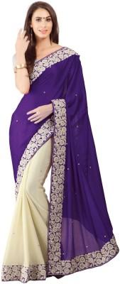 Sayonafashion Embriodered Fashion Georgette Sari