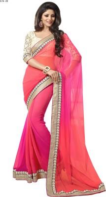 SayShopp Embriodered Fashion Chiffon Sari