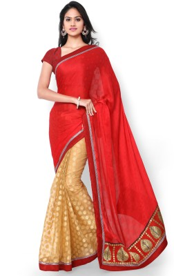 Shree Parmeshwari Self Design Fashion Jacquard Sari