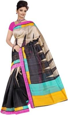 Giriraj Fashion Printed Fashion Art Silk Sari