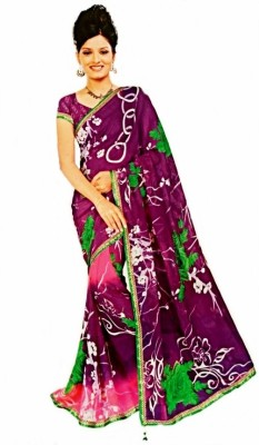 Sargam Printed Fashion Georgette Sari