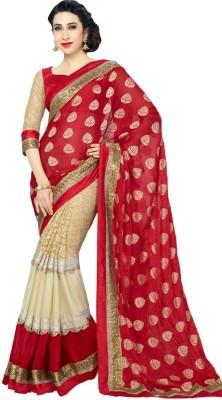Apka Apna Fashion Embriodered Bollywood Georgette Sari