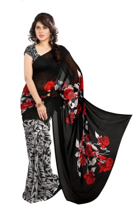 Nilam Creation Printed Bollywood Georgette Sari