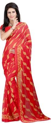 JBKEnterprise Printed Daily Wear Georgette Sari