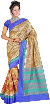 Indian E Fashion Paisley Bhagalpuri Cotton Sari