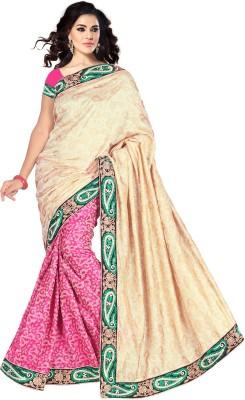 Alliance Fashion Self Design Fashion Jacquard Sari