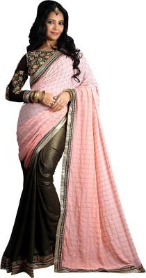 JS Pavitra Fabrics Embriodered Fashion Chiffon Sari