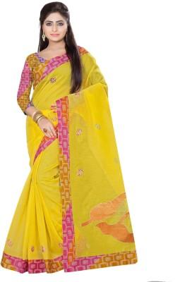 Fabdeal Floral Print Fashion Cotton Sari