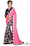 Sarees House Self Design Bollywood Chiff...