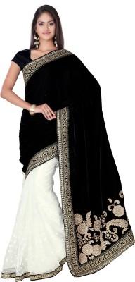 Style Sensus Self Design Fashion Velvet Sari