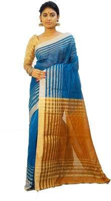 Rudrakshhh Woven Jamdani Handloom Silk Sari