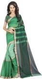 Gaurangi Creations Striped Chanderi Chan...