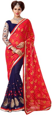 Jay Gopal Embellished Fashion Georgette Sari