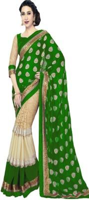 Brahmani Art Printed Fashion Handloom Viscose Sari