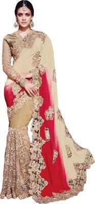 Belletouch Woven Fashion Satin Sari