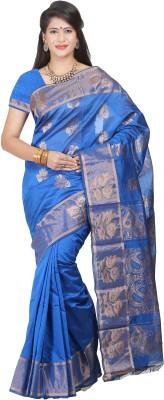 JISB Self Design Coimbatore Silk Cotton Blend Sari