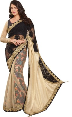 Kankavati Silk Embriodered, Embellished Fashion Net Sari