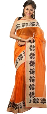 Tulaasi Digital Prints Fashion Net Sari
