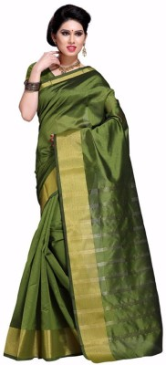 EvaFashion Embriodered Fashion Handloom Art Silk Sari