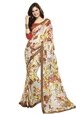Patiala House Printed Fashion Georgette Sari