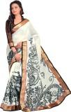 Peecaso Printed Bollywood Cotton Saree (...