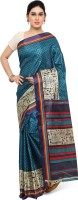 Triveni Women's Clothing - Triveni Printed Fashion Silk Saree(Multicolor)