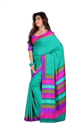 Zeena Printed Bollywood Art Silk Sari