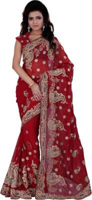 Indian House Embellished Fashion Georgette Sari