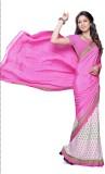 Hi-Choice Printed Fashion Crepe Saree (P...