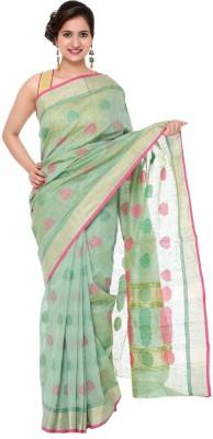 DOLLZ Self Design Fashion Silk Cotton Blend Sari